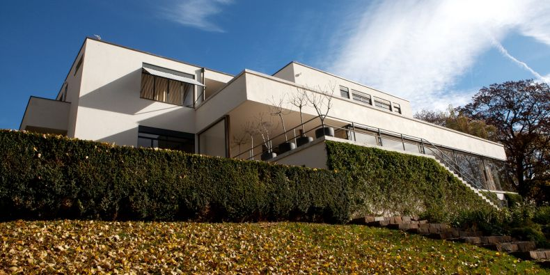 Famous villa Tugendhat in Brno.