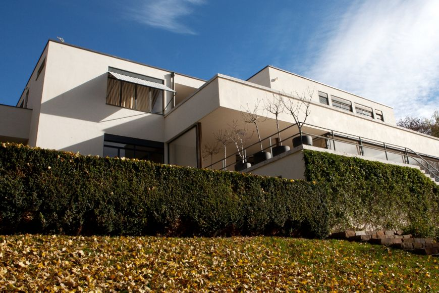Famous Tugendhat villa in Brno.