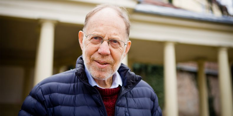 At 86, biophysicist MichaelG. Rossmann continues to work at Purdue University and studies viruses that are capable of attacking bacteria.