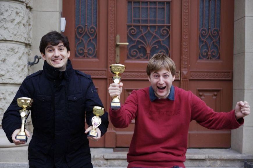 Ze šestnácti soutěžících týmů letos zvítězila dvojice Marek Leško aBranislav Fečko. Foto: Brno Open.