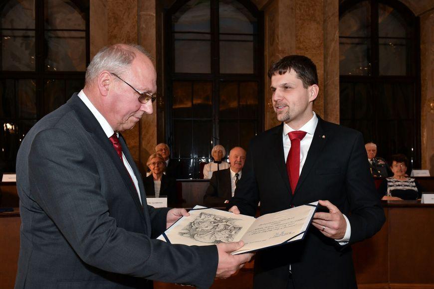 Jiří Vítovec (vlevo) zLékařské fakulty MU.