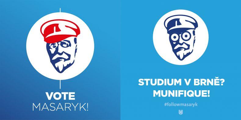 Už víte koho budete letos volit? Volte Masaryka!