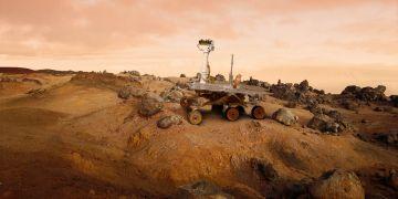 Povrch Marsu zkoumají vědci za pomoci speciálních planetárních sond.