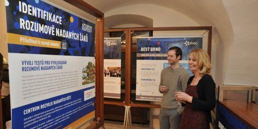 Výstavu tvoří především informační panely představující jednotlivé aktivity.