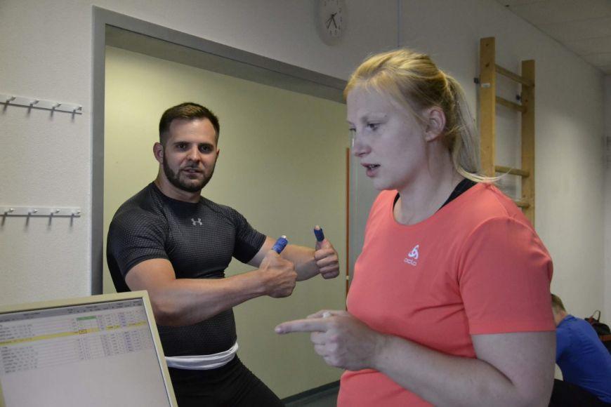 Jiří Gasior aTereza Králová společně nejen žijí, ale také studují na Fakultě sportovních studií MU.