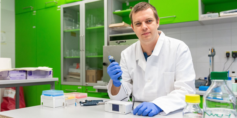 Zdenek Farka from Petr Skladal Research Group.