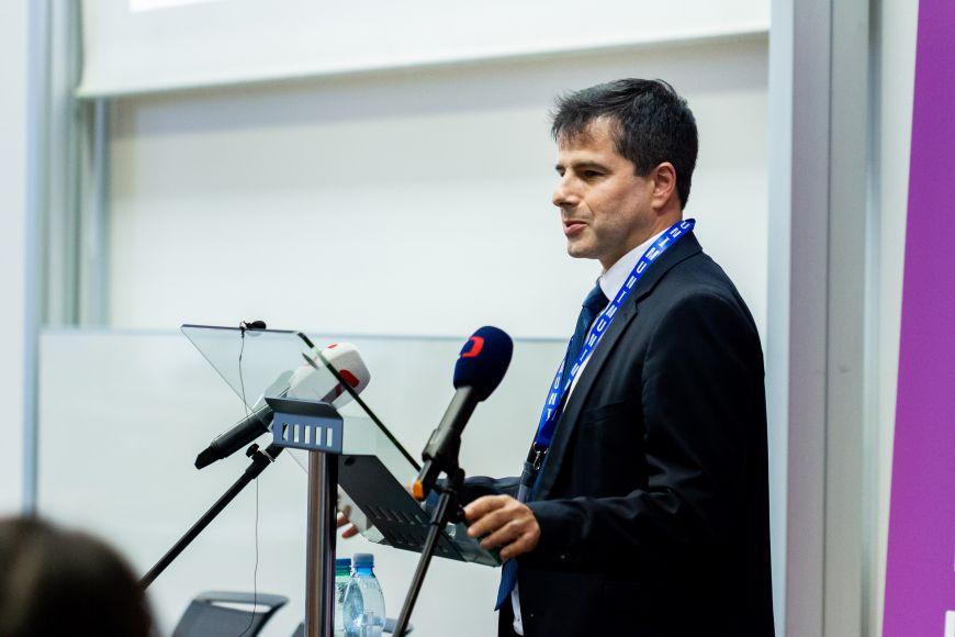 Zdeněk Tomeš, the head of Department of Economics