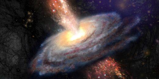 První galaxie musely být mnohonásobně aktivnější, než ty současné. Jejich aktivita byla natolik ohromná, že dokázala promíchat plyn až do vzdáleností miliónů světelných let.