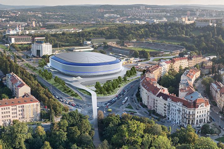 Zástupci města už schválili směnu pozemků pro nový zimní stadion, ke startu stavby ale nejspíš ještě povede dlouhá cesta.