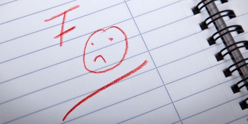 Univerzita předpokládá, že studenti jsou intelektuálně natolik na výši, že stupeň F již nebude potřeba.