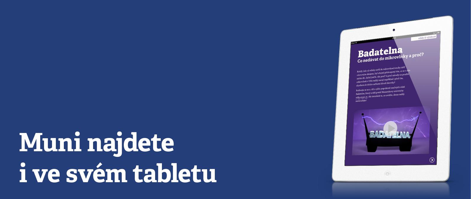 Muni.cz pro iPad