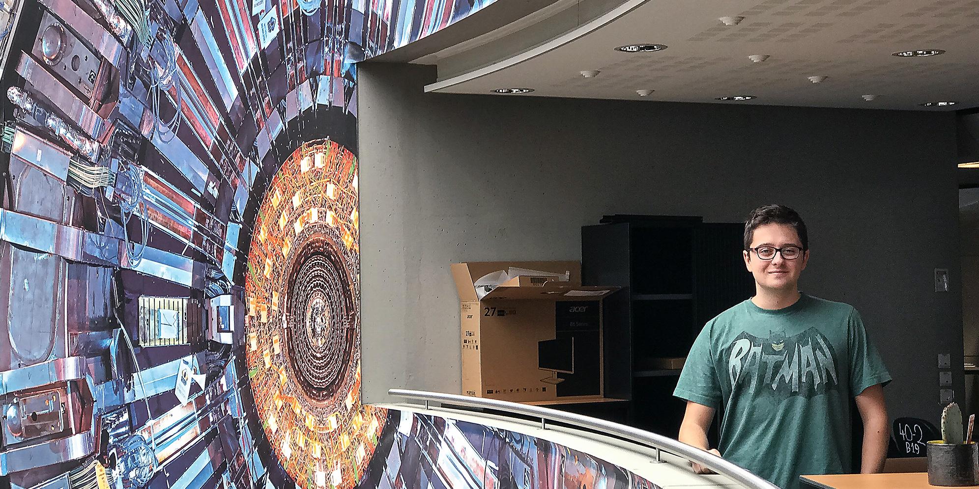 Mladý informatik už ve druháku ladí přístroje v CERN