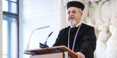 Andrej Zubov v Augustiniánském opatství po převzetí čestného doktorátu Masarykovy univerzity.