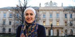 Studentka Zaina Khammash.